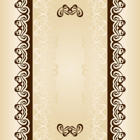 Set frames and backgrounds of calligraphy, scrolls.