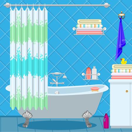 bathroom legs bathroom equipment bath on the legs of a blue green curtain