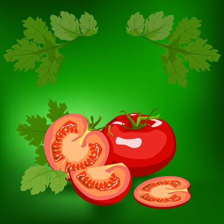 lifestile: Tomato. Label, there is a place for your text. Healthy lifestile.