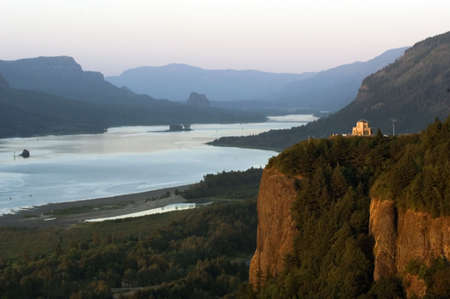 Crown Point in Columbia Gorge photo
