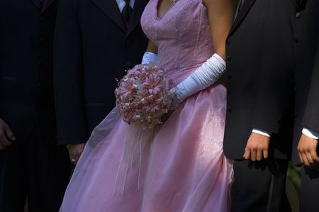Wedding Party Archivio Fotografico