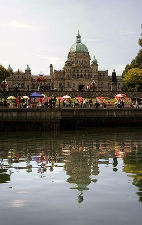victoria bc: Victoria, BC Capital Stock Photo
