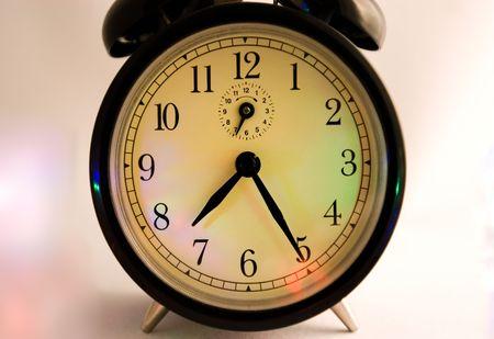 Retro alarm clock close
