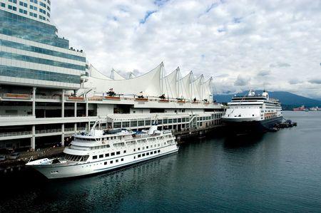 Vancouver, port of alaskan sruise ships