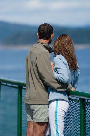 honeymooners: Lovers Stock Photo