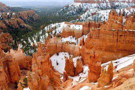 Snow of Bryce Canyon, Utah