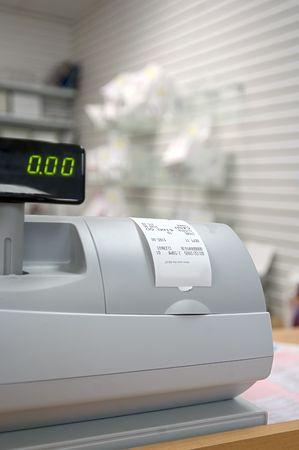 Pharmacy cash register