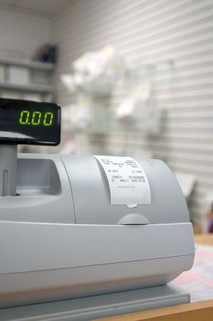 machine: Pharmacy cash register
