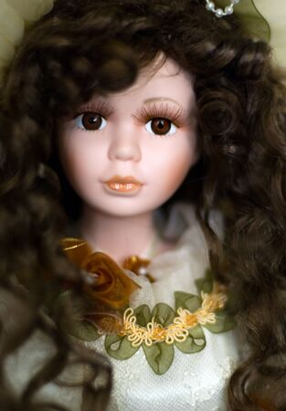 Porcelain doll face Stock Photo - 249607