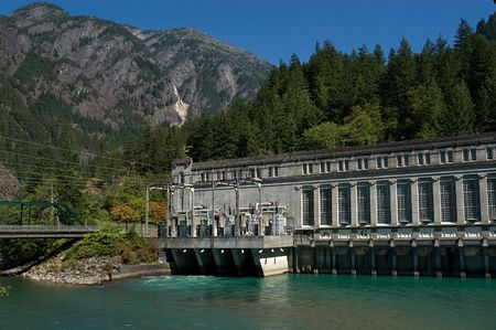 amperage: Power plant in North cascade mountains, WA