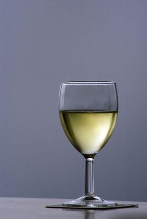 Wijnglas silhouet