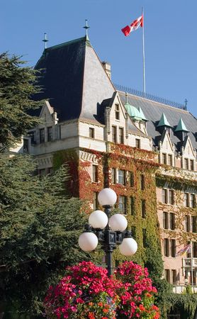 empress: The Empress hotel in Vancouver, BC