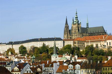 Prague castle Banco de Imagens