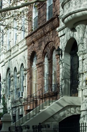 townhouses: Upper west side, new york