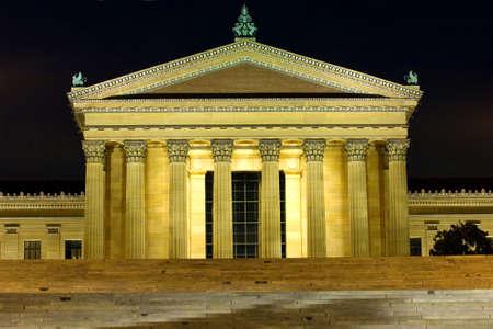 필라델피아: Philadelphias Art Museum 스톡 사진