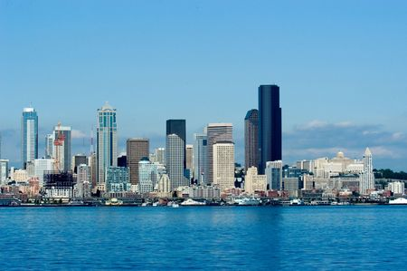 Seattle at daytime Stock Photo - 311071