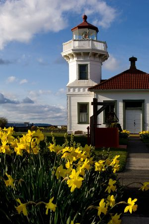Mukilteo lighthouse, Washington Stock Photo - 348403
