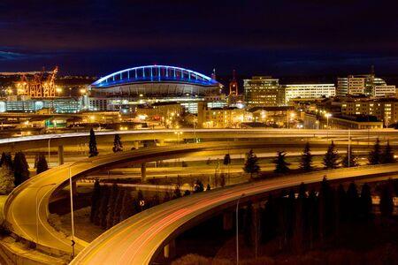 Seattle landmark - sports arena
