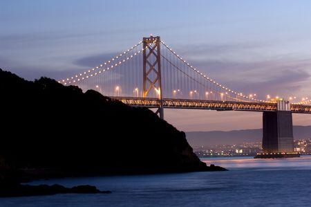 tresure: Bay bridge to San Francisco Stock Photo