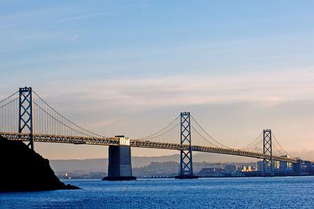 Bay Bridge from San Francisco to Oakland, California Stock Photo - 396304