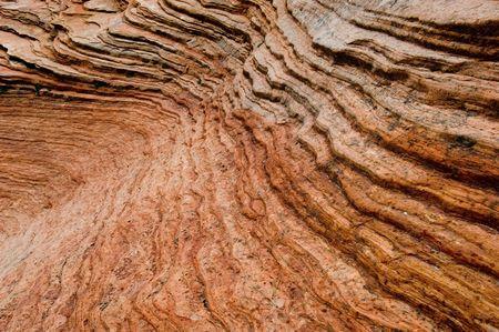 inhospitable: Rock formation in Zion National park, Utah
