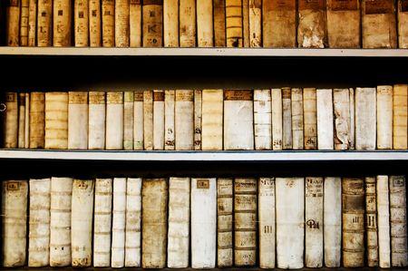 Old university library in Prague, Czech Republic Stock Photo