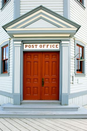 Post office in Dawson city, Yukon,  constructed in 1900s