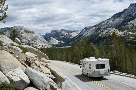 nevada: Tioga pass, Yosemite national park, California Stock Photo