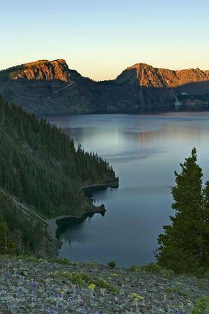 Crater Lake in Oregon, Northwest, USA Stock Photo - 537822