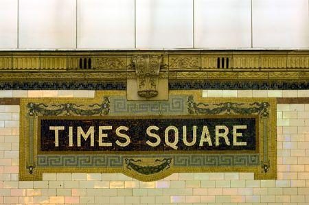 Times Square subway station, Manhattan, New York photo