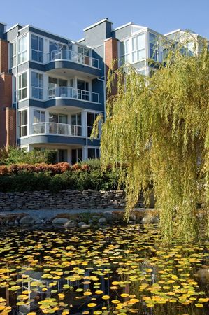 gated: Luxury apartment comples in Vancouver, British Columbia, Canada