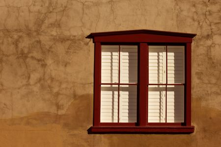 tucson: Southwestern style window in historical part of Tuscon, Arizona