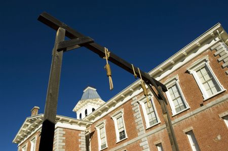 capital punishment: County courthouse - National historical landmark in Tobstone, Arizona, USA