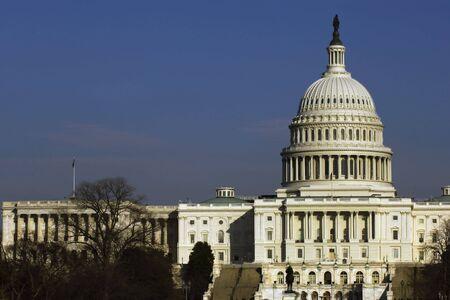 dc: Senato degli Stati Uniti edificio a National Mall, Washington, DC