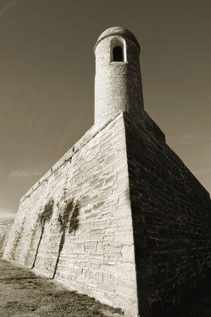 marcos: National monument Castillo de San Marcos, St. Augustine, Florida