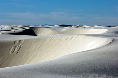 White Sands National monument, New Mexico, USA Stock Photo - 1647510