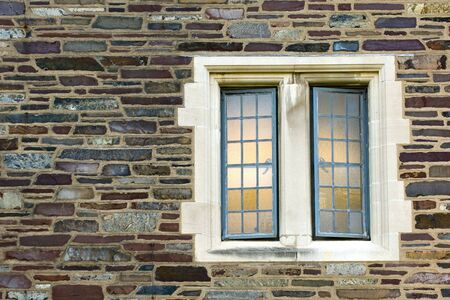 Window of old university campus building, Princeton, New Jersey Stock Photo - 2545930