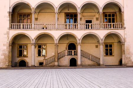 National museum in Wawel castle, Krakow, Poland