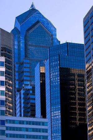 Two Liberty Place - famous Philadelphia skyscraper in Center City