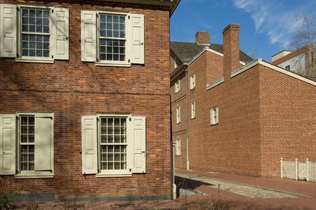 center hall colonial: Carpenters Hall, home to First Continental Congress of 1774