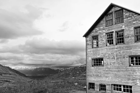 Independence Mine State Historical Park in Alaska Stock Photo - 2982567