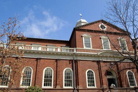 Harvard University campus in Cambridge, Massachussets photo