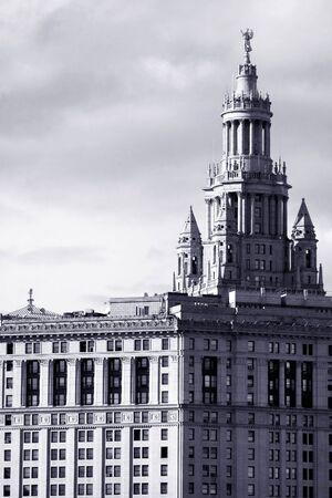 municipal: Manhattan Municipal building built in 1909-1915 in lower Manhattan, NYC