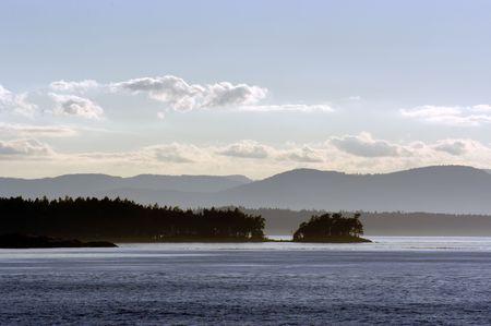 San Juan islands in Pacific ocean in Washington state Stock Photo - 3264838