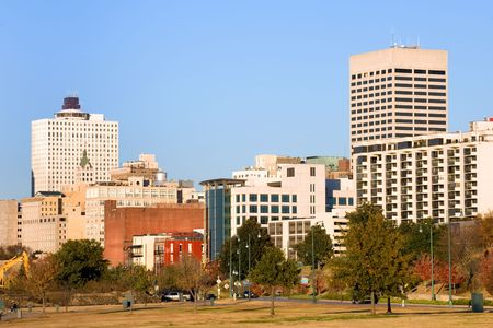 graceland: Downtown of Memphis, TN from Tom Lee park