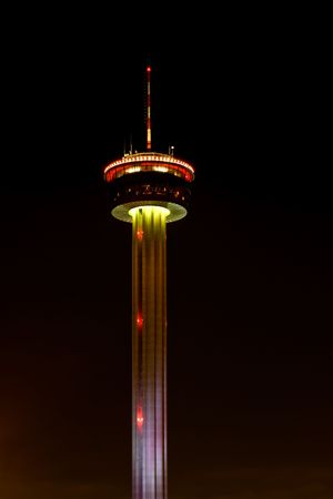 south texas: Tower of Americas in downtown San Antonio, TX