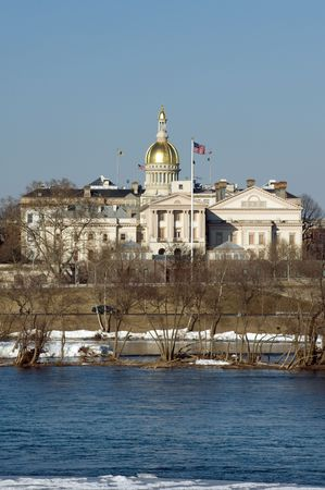 downtown capitol: New Jersey state house and capitol complex in Trenton