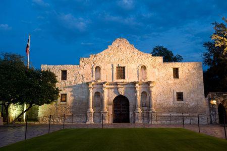 Famous american landmark - Alamo mission in San Antonio, Texas photo