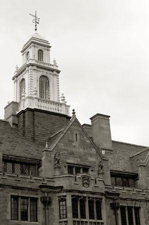 davenport: Davenport College of Yale university on York street