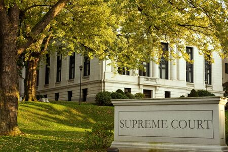 supreme court: Connecticut Supreme court building in Hartford downtown Stock Photo